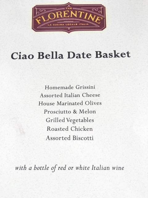 basket date florentine