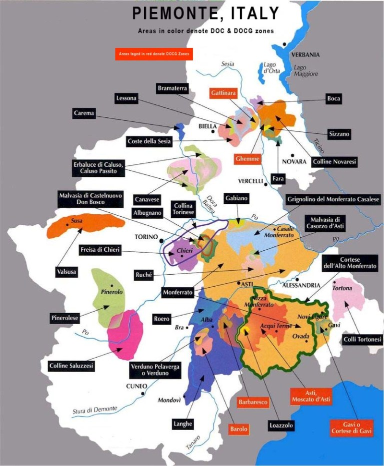 Piemonte-Map-DOC-DOCG
