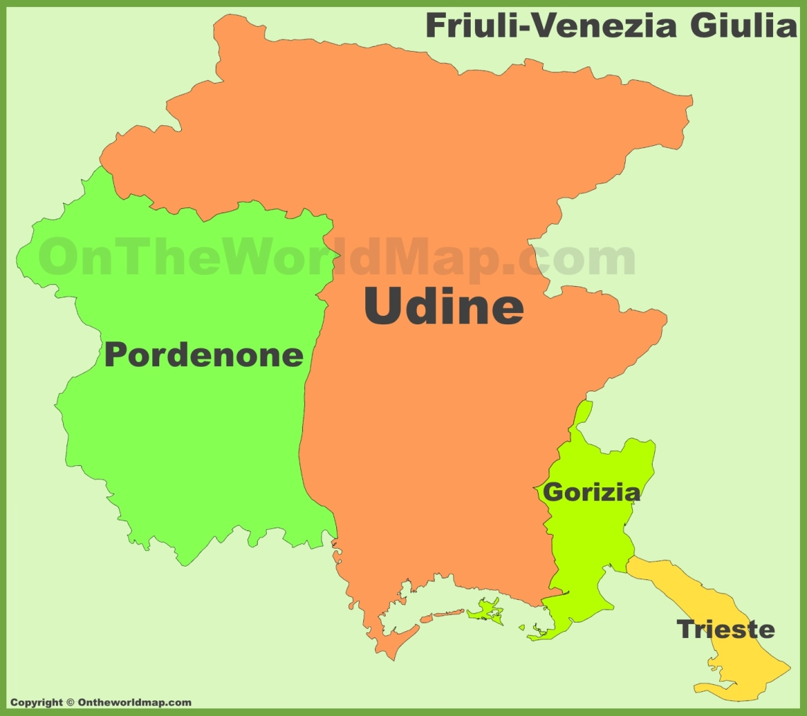 friuli-venezia-giulia-provinces-map